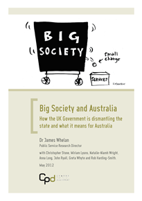 Front Page from cpd_big_society-FINAL-WEB-VERSION image