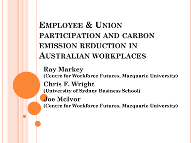Page 1 from Markey et al Employee participation & carbon emission medium