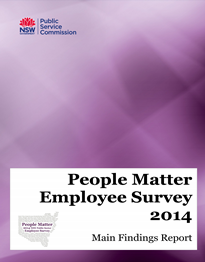Page 1 from People Matter Employee Survey Main Findings Report 2014 small