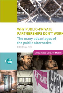 Page 1 from Why Public-Private Parnerships don't work - PSI report March 2015medium