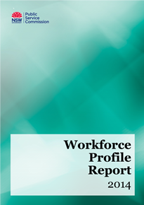 Page 1 from Workforce Profile Report 2014 medium