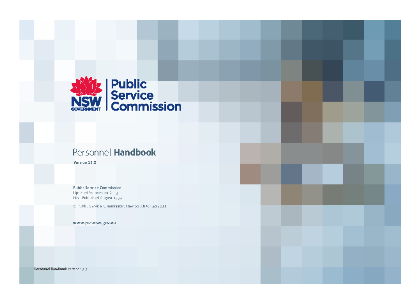 Personnel Handbook V13.3 cover medium