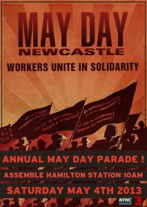 may day newcastle