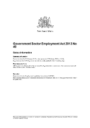 Front page of GSE Act 2013 No 40 small
