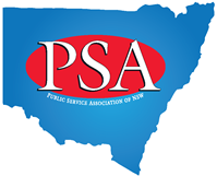 PSA logo on blue NSW map March 2014 medium