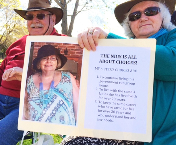 Fighting for choice in Albion Park on 19 September