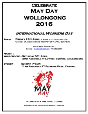 May Day Wollongong Leaflet_2016smaller