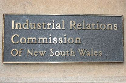 Industrial Relations Commission bulletin