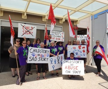 Safe Hands Campaign – Members in Kempsey and Port Macquarie take action