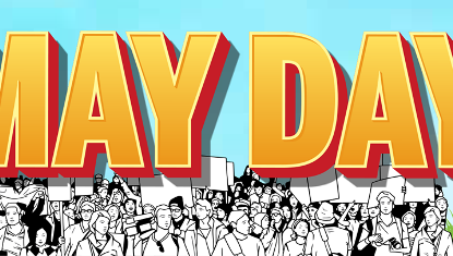 Save the Date – May Day Rally & Family Fun Day