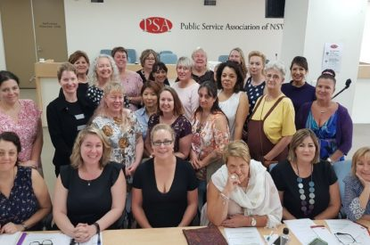 Introduction to the new PSA/CPSU NSW Women's Council Committee