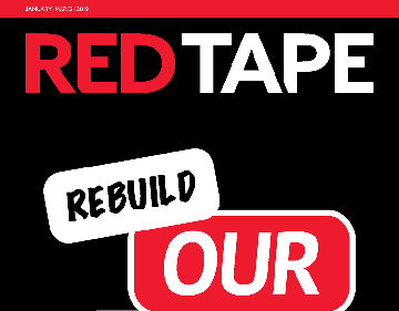 Red Tape - January - March 2019 Edition