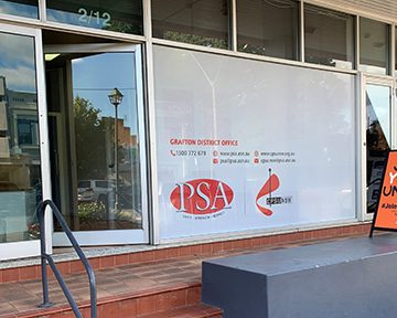 PSA/CPSU NSW Grafton office open for business