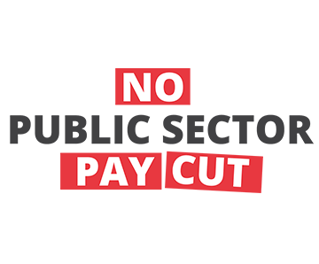 No Public Sector Pay Cut